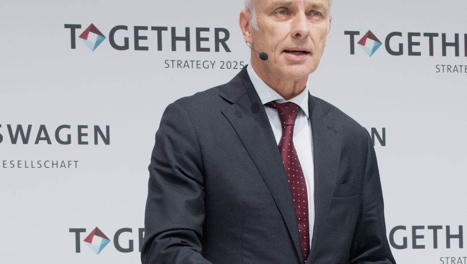 """""""Wir haben die ganze Welt am Hals"""": Volkswagen-Konzern-Chef Matthias Müller"""
