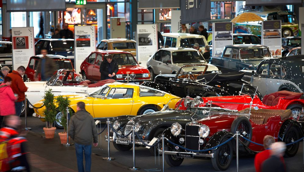 Messe-Highlights: Alles rund um Oldtimer