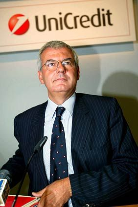 Als CEO vorgesehen: UniCredito-Chef Alessandro Profumo