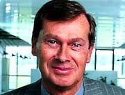 Jürgen Dormann, 62, Vorstandsvorsitzender des deutsch-französischen Pharmakonzerns Aventis