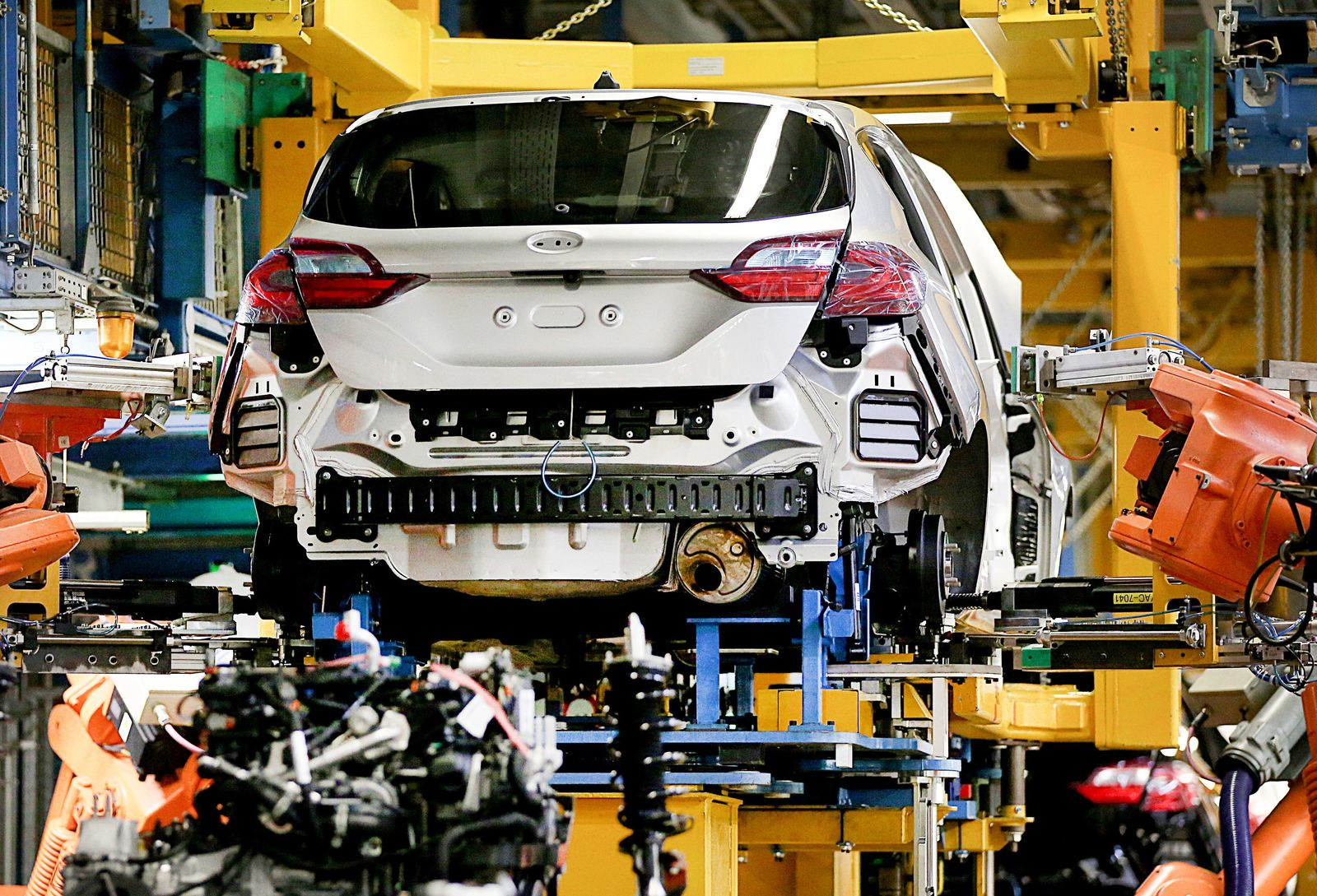 Ford Produktion in Köln