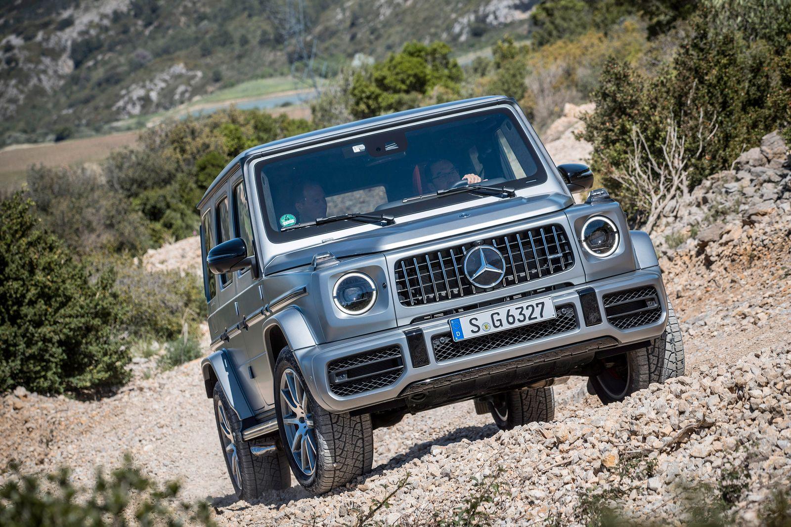 Die neue Mercedes-Benz G-Klasse: Eine Ikone erfindet sich neu The new Mercedes-Benz G-Class: An icon reinvents itself