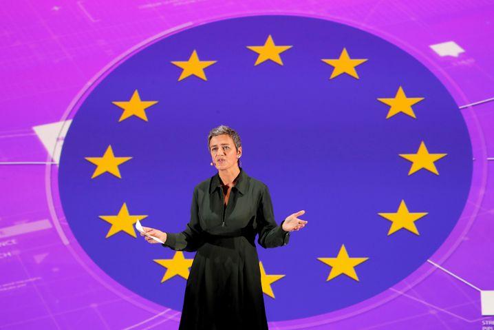 Big Techs Erzfeindin: EU Wettbewerbs-Kommissarin Margrethe Vestager.