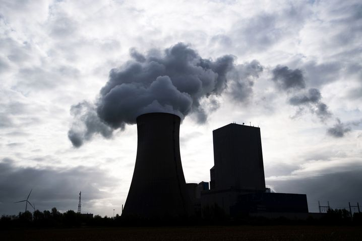 Kohlekraftwerk in Niedersachsen, Hohenhameln: Der CO2-Ausstoß dürfte 2020 um 8 Prozent sinken