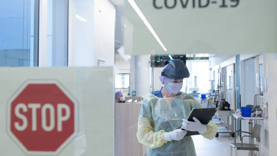 Keine Besserung in Sicht: Es bleibt die traurige Wahrheit, dass sich die Intensivstationen in Deutschland vorerst mit Covid-19-Patienten weiter füllen werden