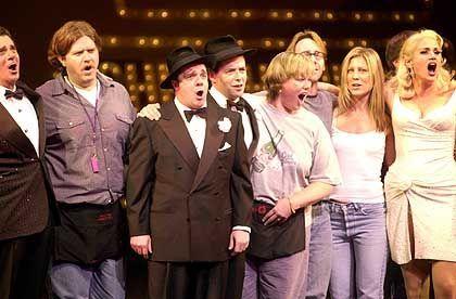 Lange Tradition: Nathan Lane und Matthew Broderick bei einer Cabaret-Aufführung im September 2001