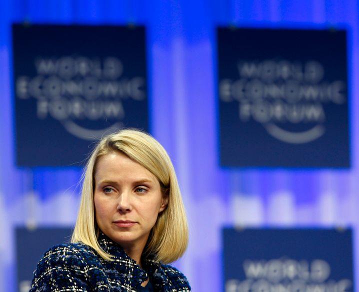 Bestverdienende Tech-Frau: Yahoo-CEO Marissa Mayer