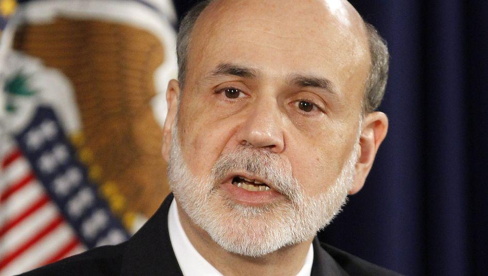 US-Notenbank-Chef Ben Bernanke: Geldschwemme erneut ausgeweitet