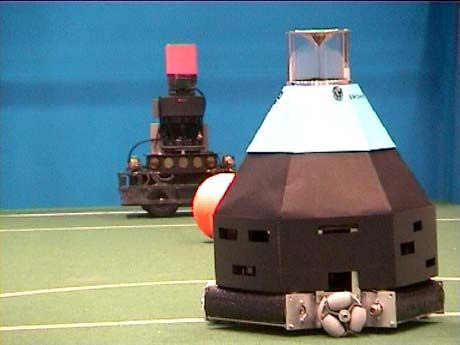 Das Runde ins Eckige: Elfmeter beim Robocup