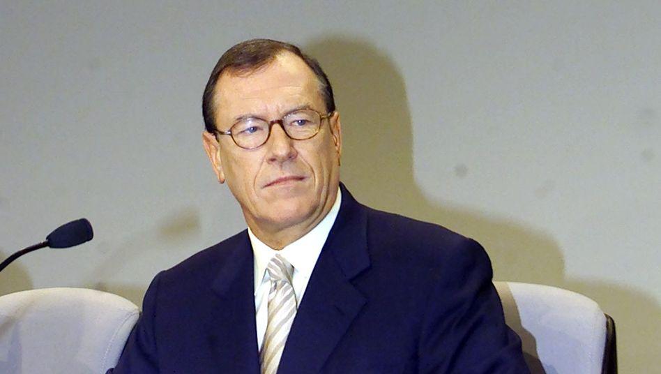 Ex-Daimler-Chef Schrempp: Nach seinem Abgang stieg der Aktienkurs