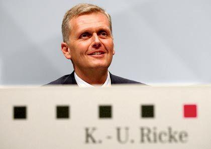 Lächeln nicht verlernt: Telekom-Chef Ricke