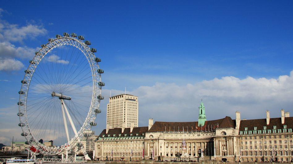 The London Eye: Vorbild für den Riesenrad-Fonds