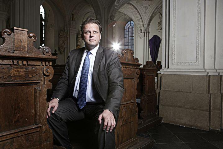Auch im Auftrag des Vatikan unterwegs: Douglas-Sanierer Michael Keppel.