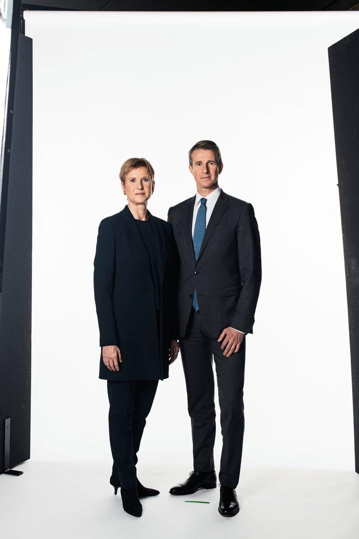BMW-Großaktionäre: Susanne Klatten (59) und Stefan Quandt (55) haben den Großteil ihrer Beteiligungen in einen profitablen Zustand überführt