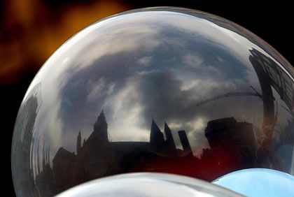 Droht zu platzen: Experten sehen eine Blase im Kreditgeschäft