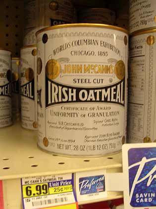 "Trend ""Neo-Retro"": John McCann's Irish Oat Meal"