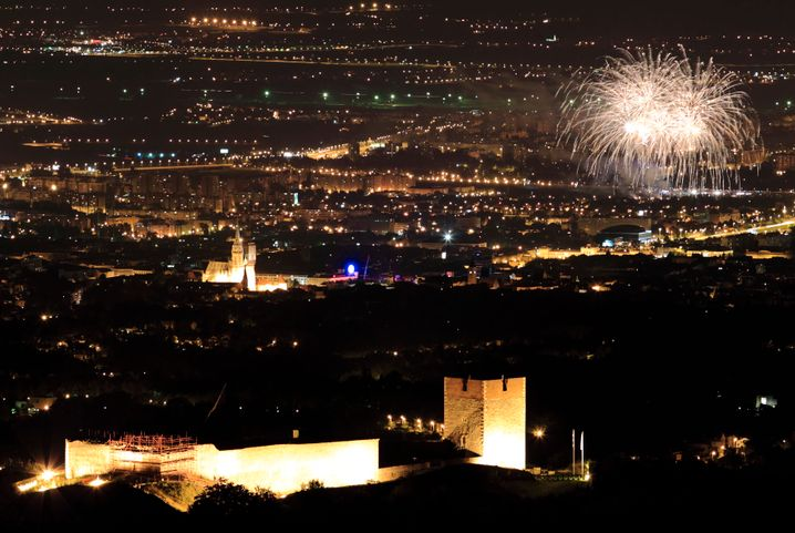 Feier zum EU-Beitritt Kroatiens in Zagreb 2013
