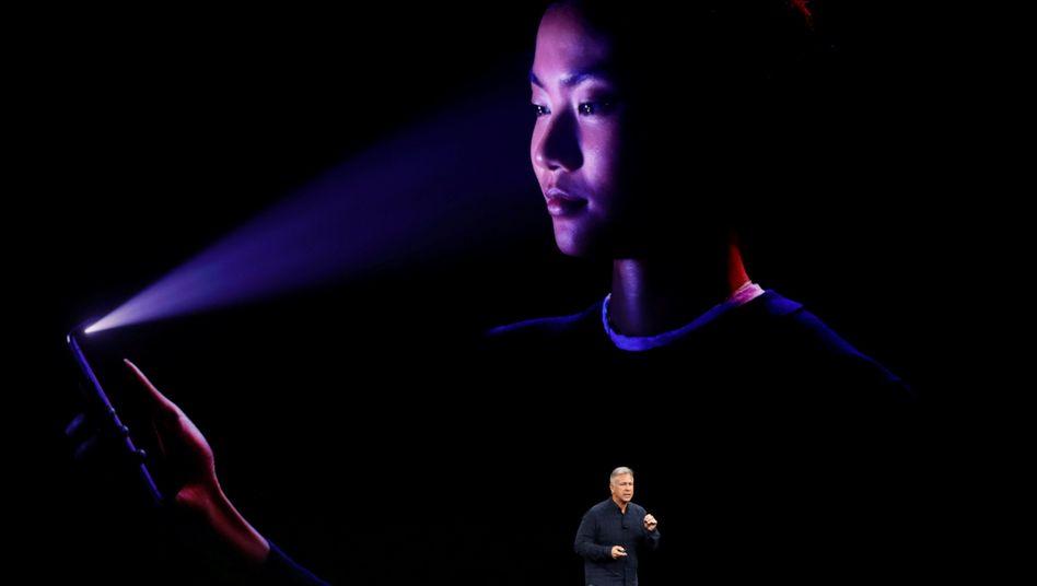 Face ID beim iPhone X