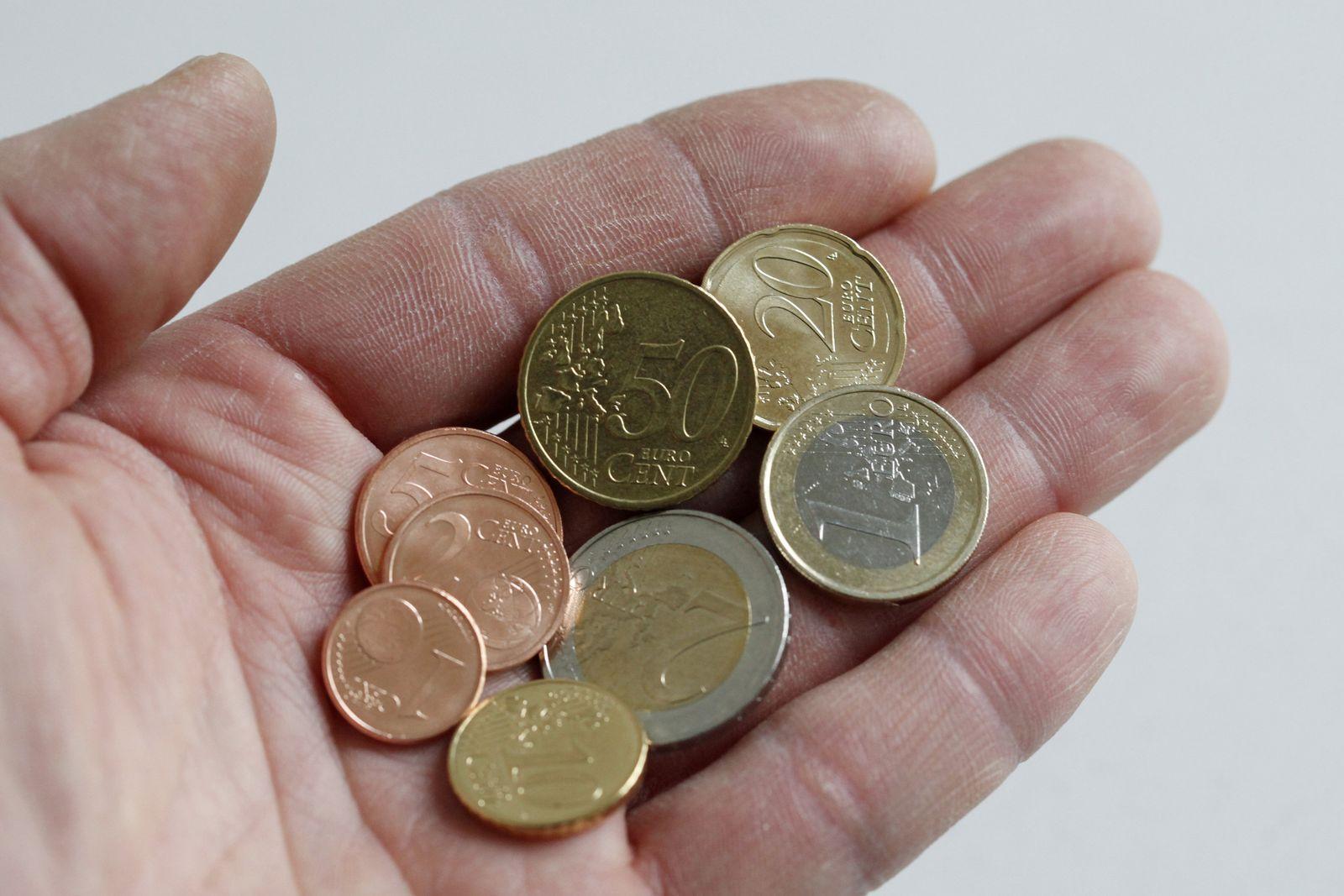 Großzügig / Kleingeld / Spende