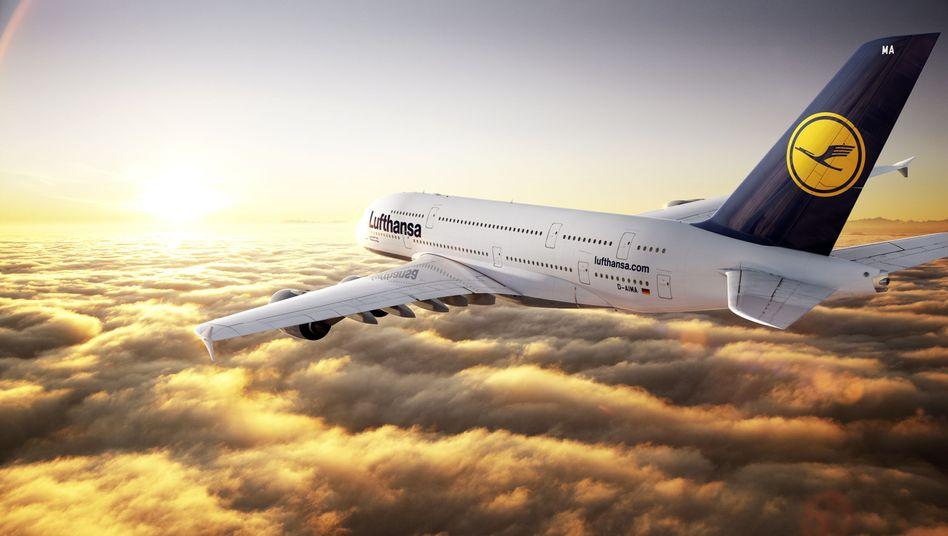 A380 der Lufthansa: Wenn die Lufthansa sich nicht einmal mehr der US-Carrier erwehren kann, steht es wirklich schlecht um sie