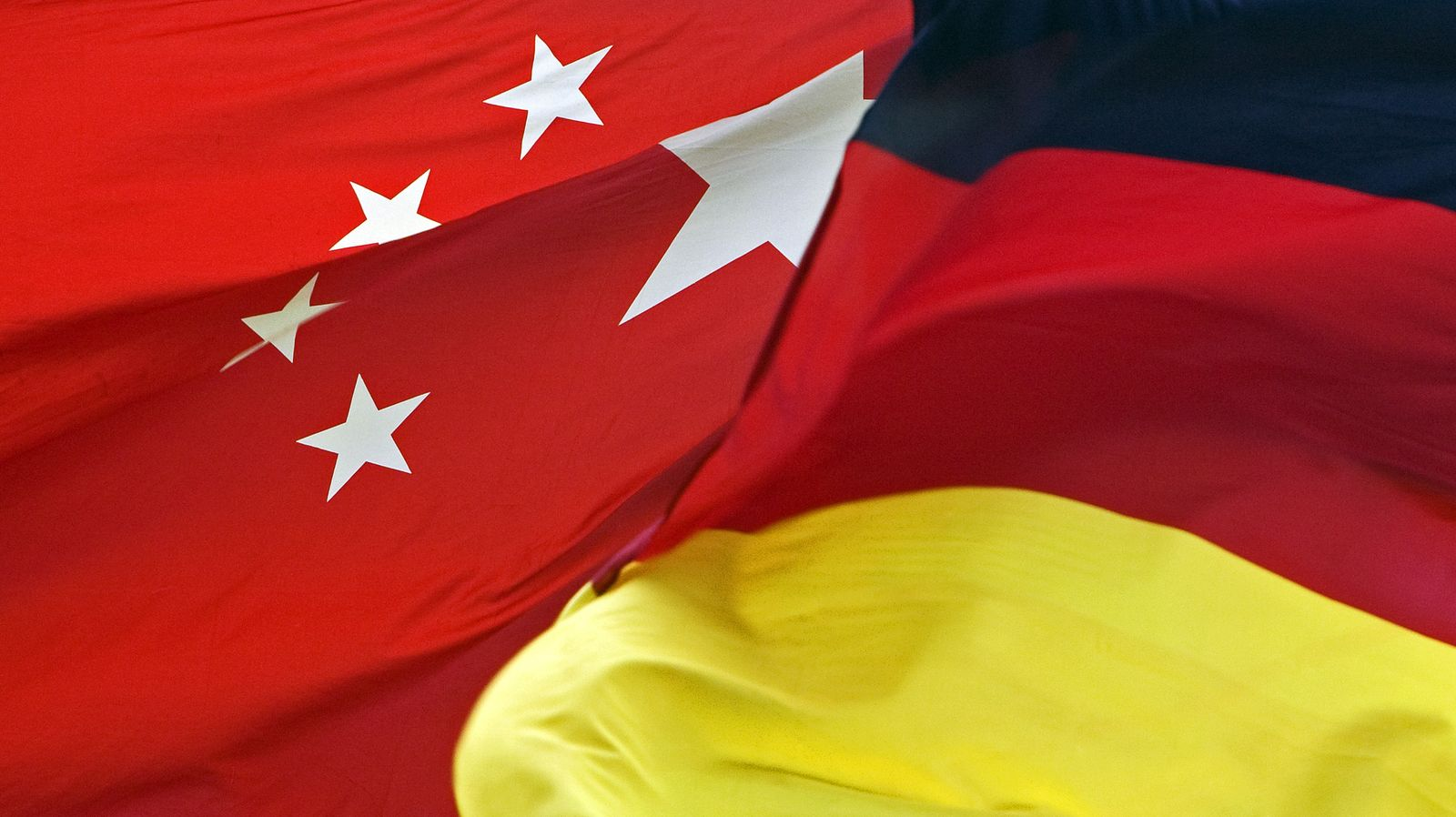 China Deutschland Flagge