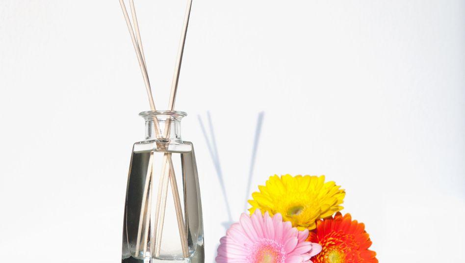 Einfach dufte: Blumige Raumdüfte sind etwas für das Wohnzimmer - sie können das Wohlbefinden steigern