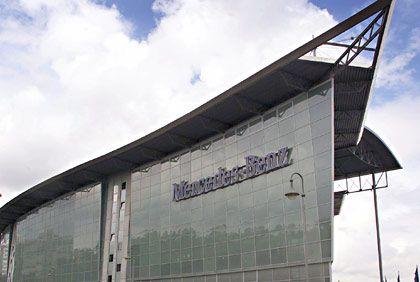 Ort des ersten Aufflammens der Affäre: Mercedes-Niederlassung in Berlin
