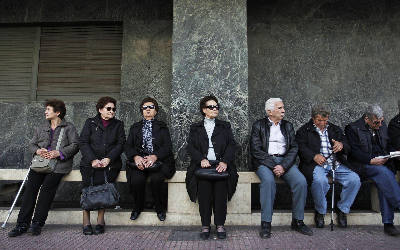 Griechenland/ Rentner
