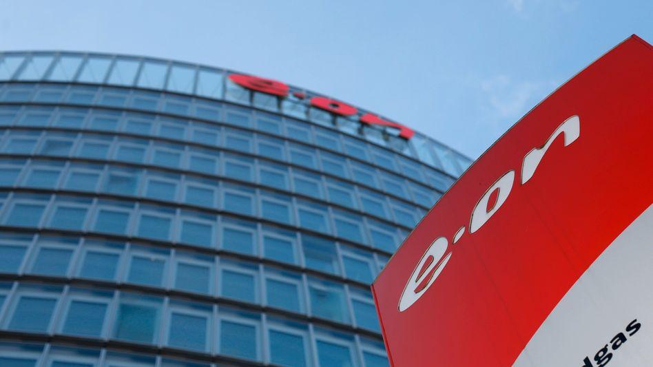 Eon-Zentrale in Essen: DieBestätigung der kurz- und mittelfristigen Ergebnisziele beflügelt die Aktie