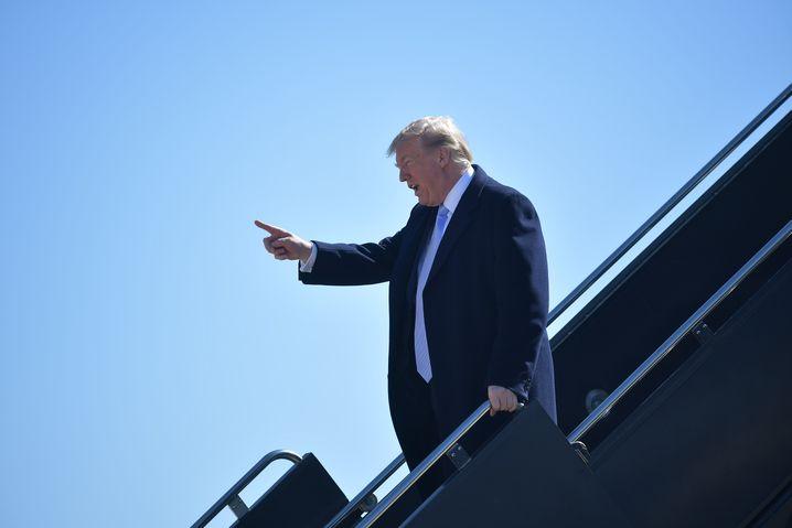 Börsenschreck: Donald Trump weiß heute noch nicht, wen er morgen feuern wird