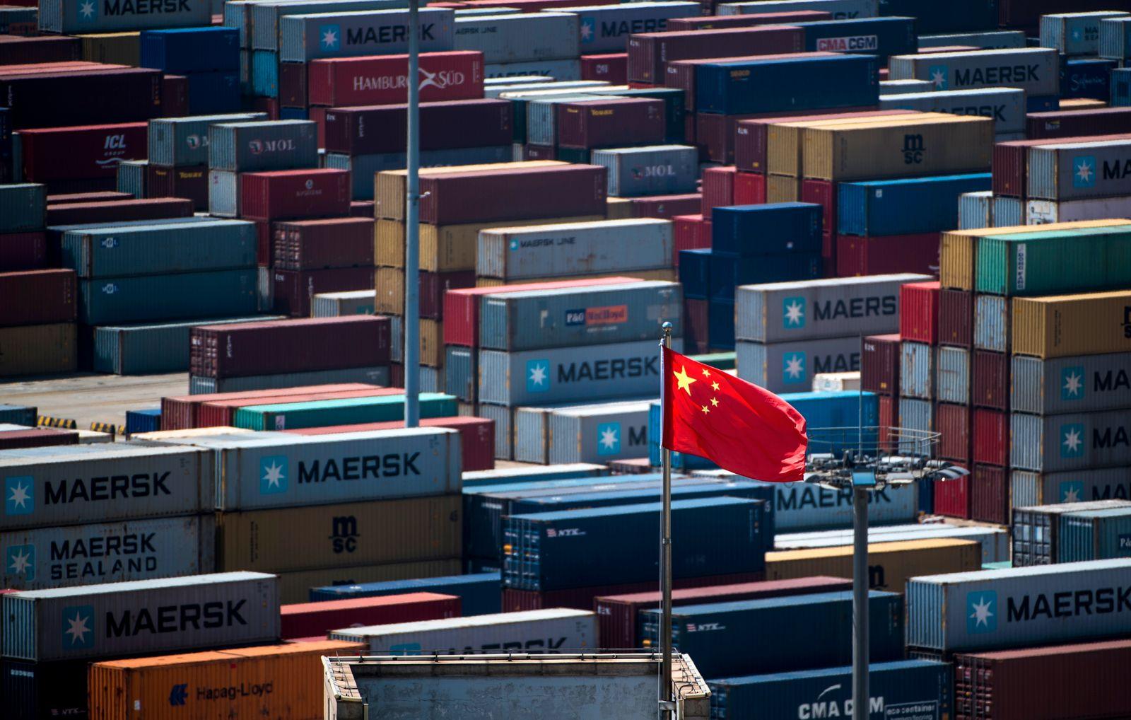 China / USA / Handel / Handelskrieg / Export / Import / Konjunktur / Hafen