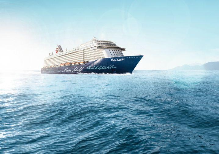 """Die """"Mein Schiff 5"""" ist neben der """"Aida Prima"""" das zweite neue Kreuzfahrtschiff der deutschen Reedereien in diesem Jahr."""