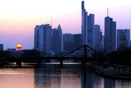 Maklerdämmerung: Die Sonne geht unter über Frankfurter Immobilien