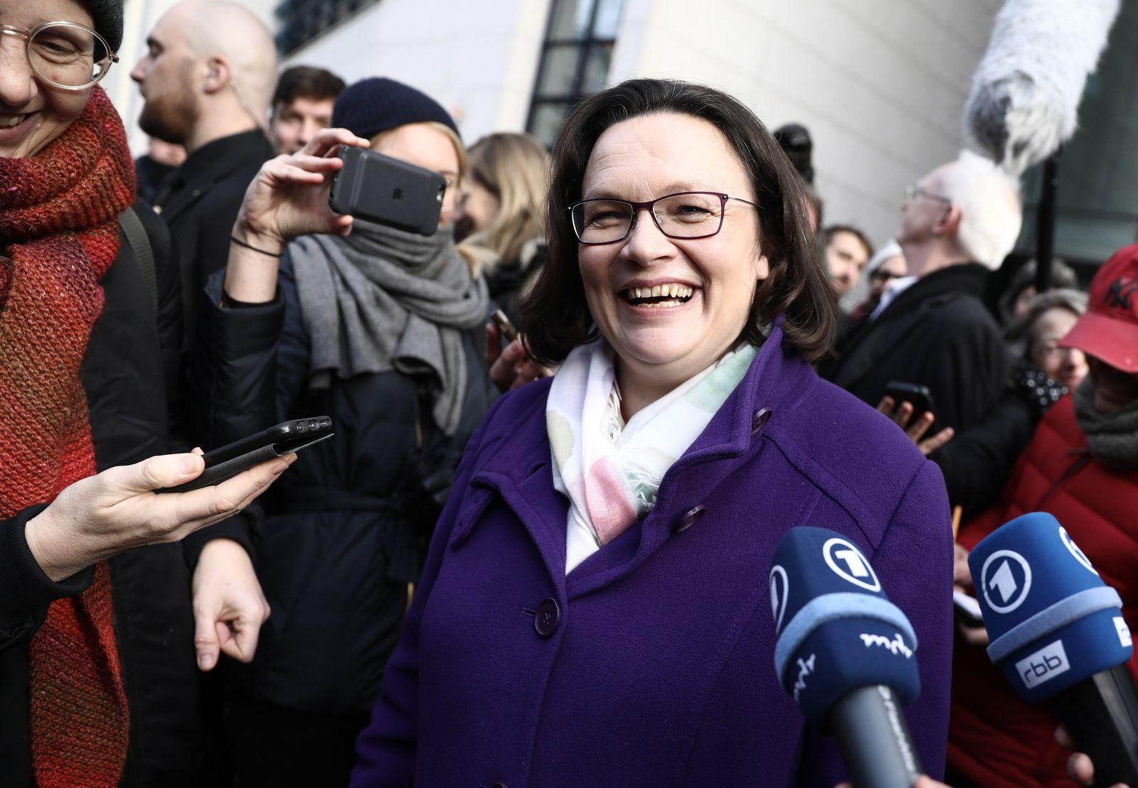 SPD-Mitgliedervotum Nahles