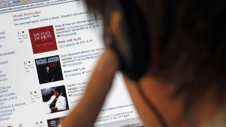 Albenkauf bei Amazon: Die MP3-Datei gibt´s gratis dazu