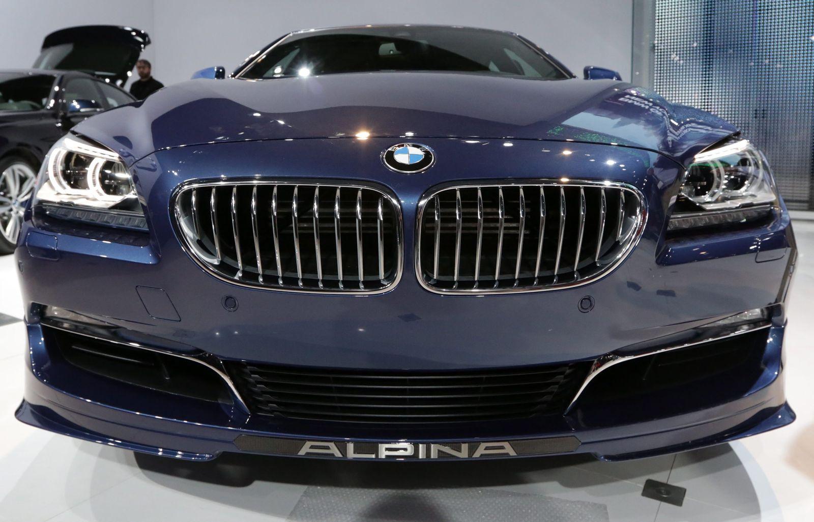 BMW Alpina B6 / Frontansicht