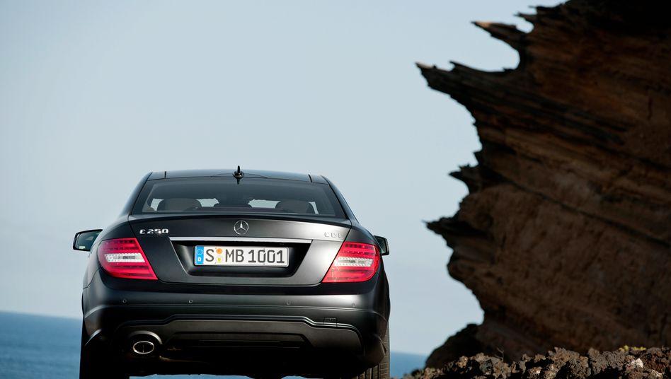 Mercedes C-Klasse: Luxus verkauft sich wieder - nicht nur in Deutschland