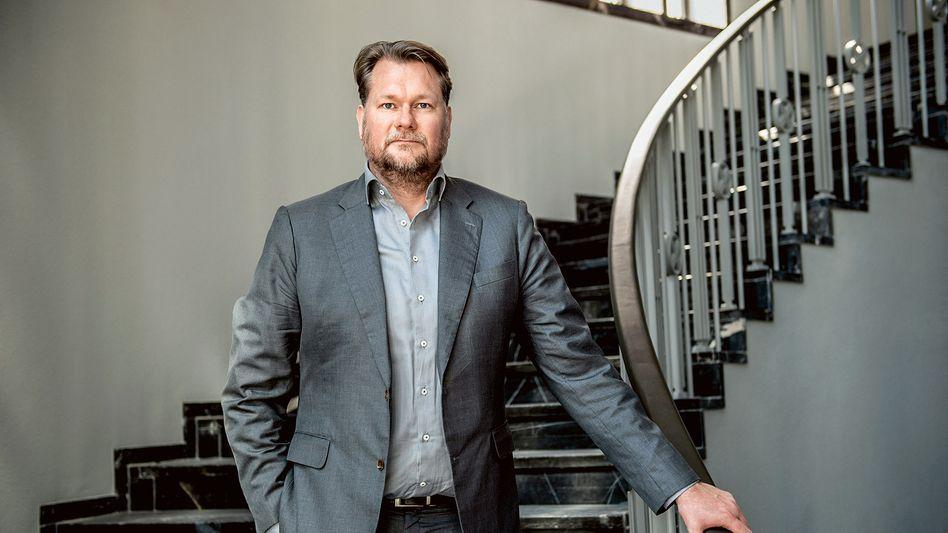 Einer von zwei stillen Software-Nerds: Think-Cell-Mitgründer Markus Hannebauer in seinem Privatmuseum, in dem er seine Videokunst-Sammlung ausstellt