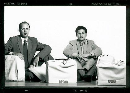 Taschen-Näher: Das Unternehmen, das die Brüder Axel und Philipp Bree in der zweiten Generation in Isernhagen bei Hannover führen, fertigt feines Businessgepäck und robuste Tornister.