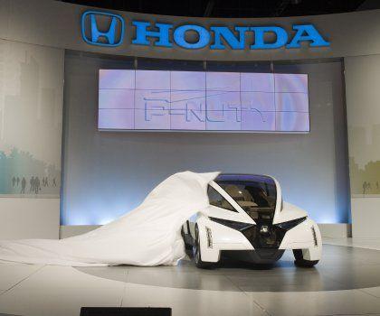Futuristische Fortbewegung: Der P-Nut von Honda