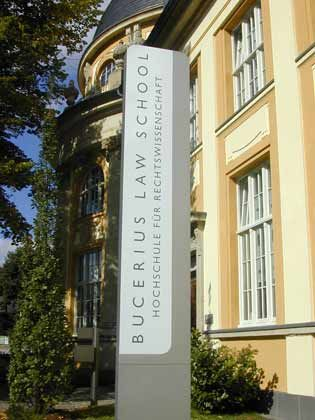 Platz 1 unter den Jura-Hochschulen: Bucerius Law School in Hamburg