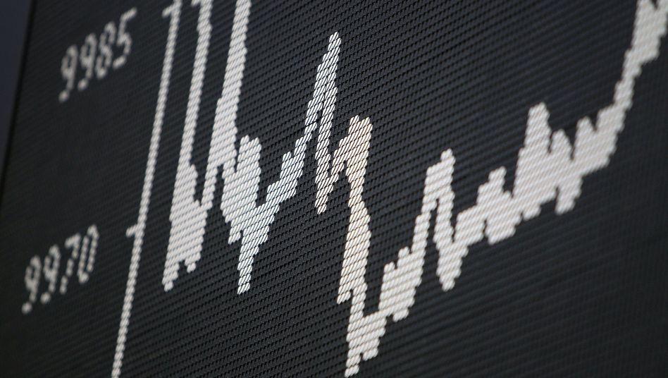 Schwankungen: Der Dax ist volatil