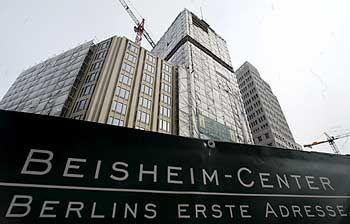 145 Millionen Euro Grundstückswert, Bausumme 430 Millionen Euro: Beisheim-Center am Potsdamer Platz