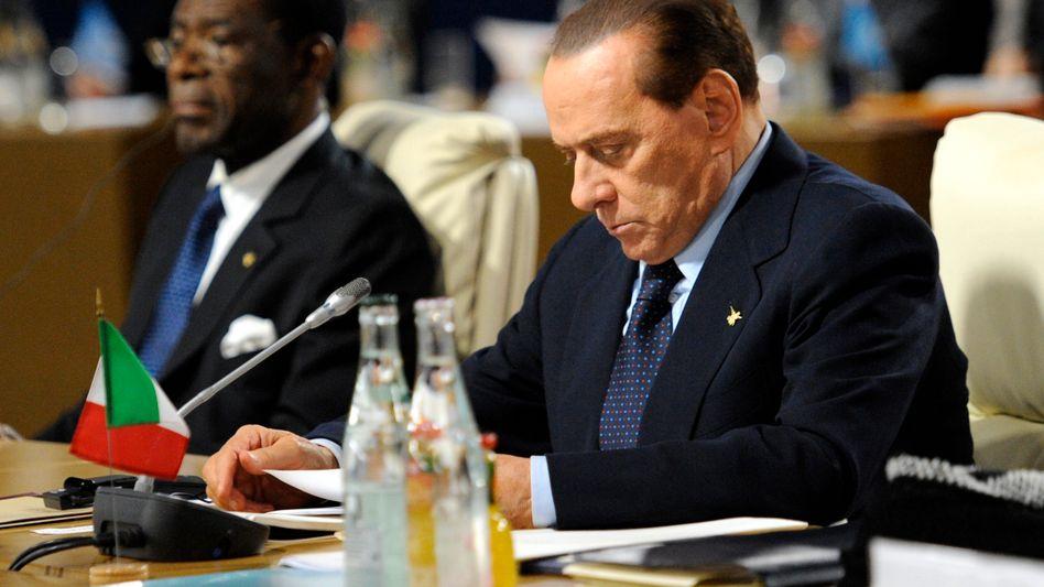 Italiens Premier Berlusconi: Hat bereits auf dem EU-Gipfel vor einer Woche einer Überwachung durch die EU-Kommission zugestimmt