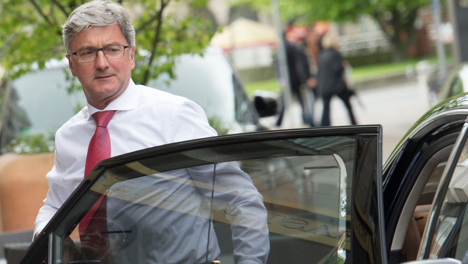 Derzeit viel in eigener Sache unterwegs: Audi-Chef Rupert Stadler, hier eine Aufnahme aus dem Mai 2015.