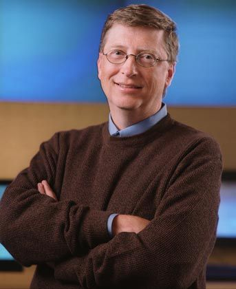 Mit Abstand größter Spender der Welt: Bill Gates