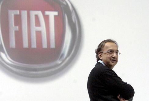 Selbstbewusst: Fiat-Chef Sergio Marchionne will mit einem Bündnis aus Fiat, Chrysler und Opel den VW-Konzern überholen