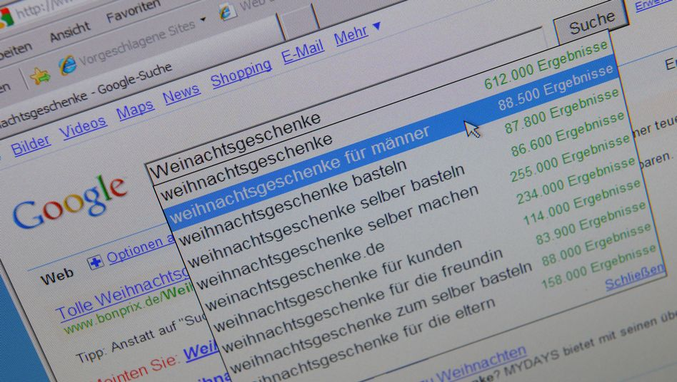 Google-Trefferliste: Streit mit der EU steht vor der Beilegung