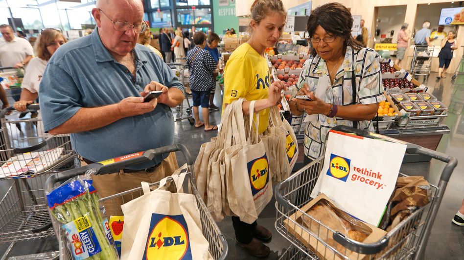 Zu große und zu teure Märkte, zu wenig Umsatz: Der Vorstoß des deutschen Discounters Lidl in den USA ging offenbar daneben