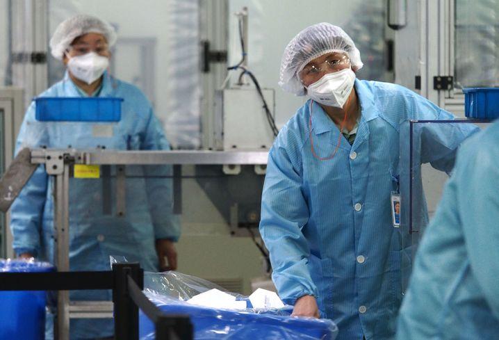 Hier läuft die Produktion schon: 3M-Fabrik in Shanghai